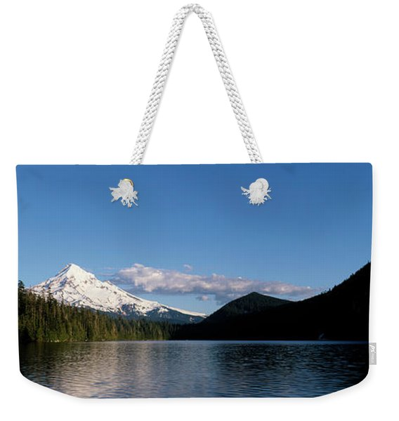 Lost Lake With Mount Hood Volcano Weekender Tote Bag
