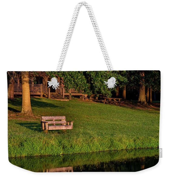 Lost Reflection Weekender Tote Bag