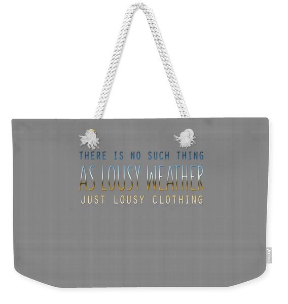 Lousy Clothing Weekender Tote Bag