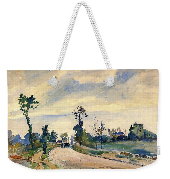 Louveciennes, Road Of Saint-germain - Digital Remastered Edition Weekender Tote Bag