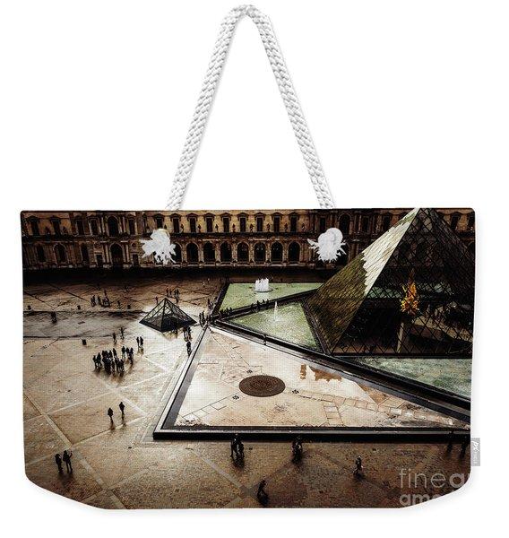 Louvre Weekender Tote Bag
