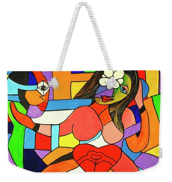 Love And Be Loved Weekender Tote Bag