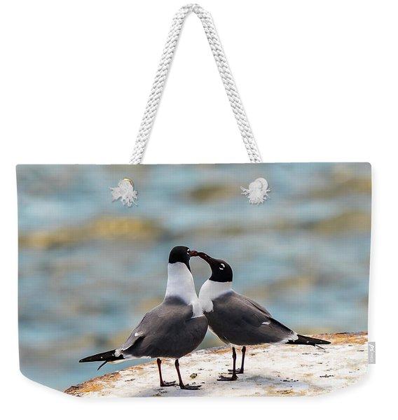 Love Birds Weekender Tote Bag