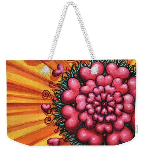 Love Blossom Weekender Tote Bag