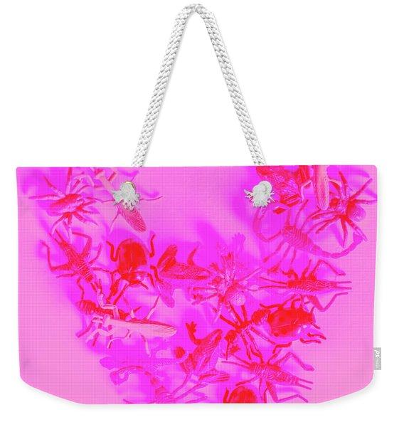 Love Bug Pop Heart Weekender Tote Bag