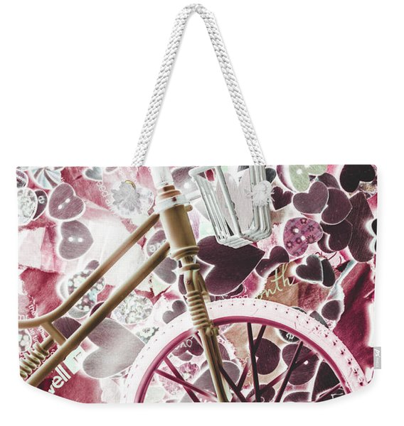 Love Courier Weekender Tote Bag