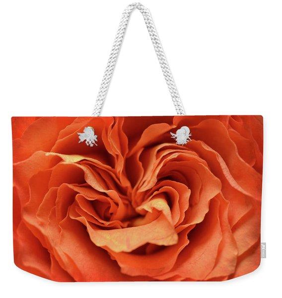 Love In Motion Weekender Tote Bag