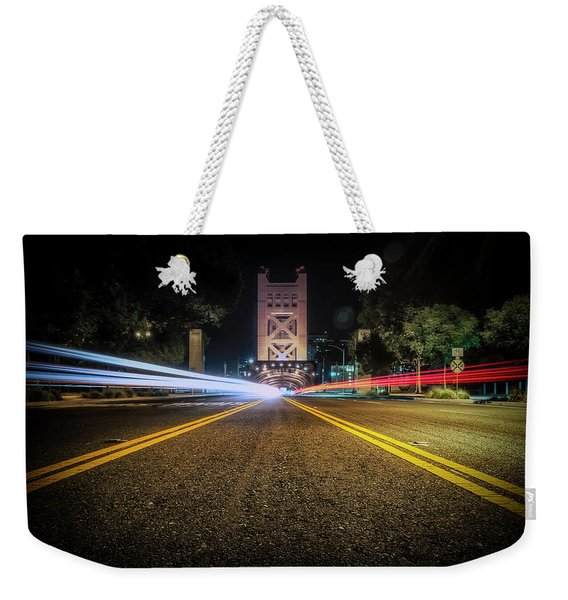 Love Is A Two Way Street Weekender Tote Bag
