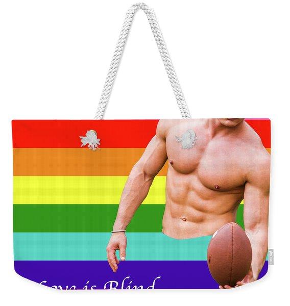 Love Is Blind 4 Weekender Tote Bag