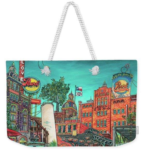 Love The Pearl Weekender Tote Bag