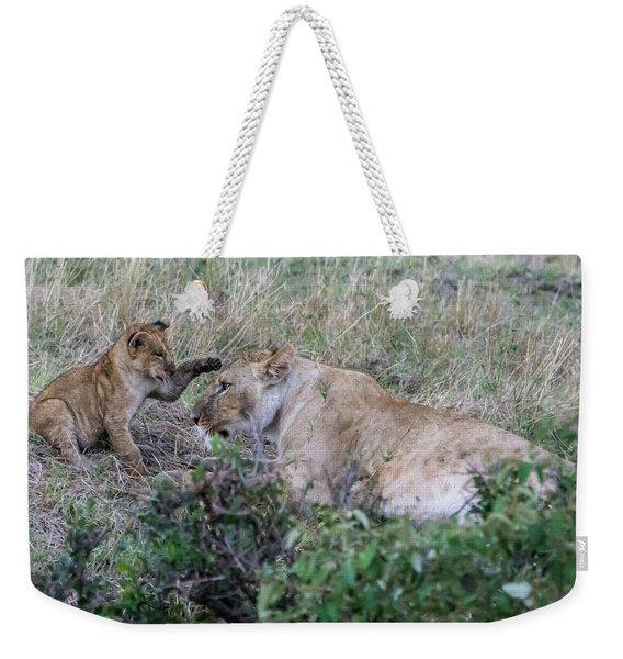 'love You Mom' Weekender Tote Bag
