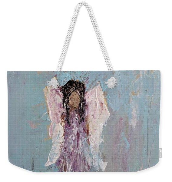 Lovely Angel  Weekender Tote Bag
