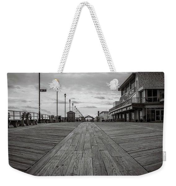 Low On The Boardwalk Weekender Tote Bag