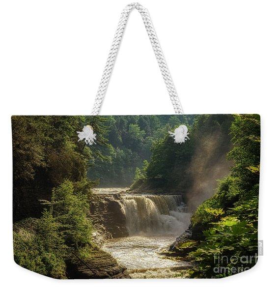 Lower Falls Letchworth State Park Weekender Tote Bag