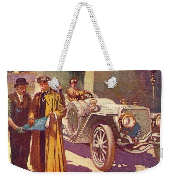 Lozier Advertisement Weekender Tote Bag
