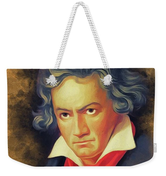 Ludwig Van Beethoven, Music Legend Weekender Tote Bag
