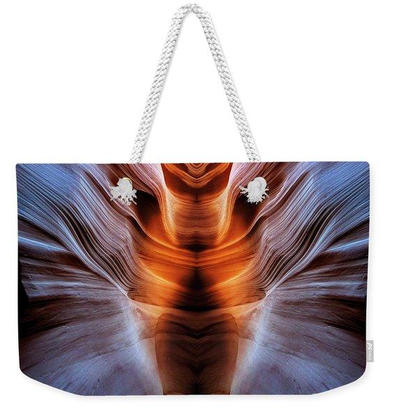 Luminous Canyon Weekender Tote Bag