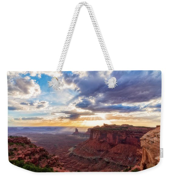 Luminous Weekender Tote Bag