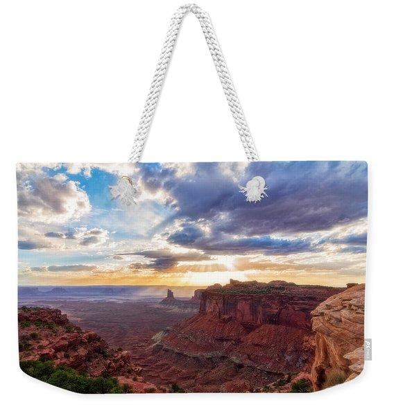 Luminous Weekender Tote Bag