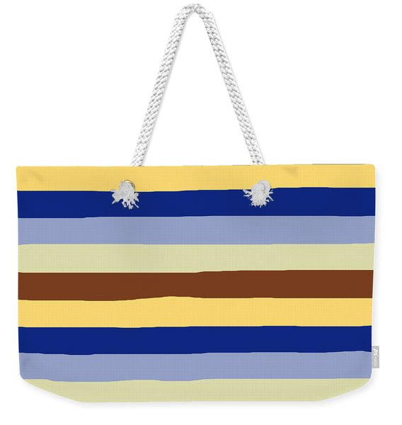 lumpy or bumpy lines abstract and summer colorful - QAB277 Weekender Tote Bag