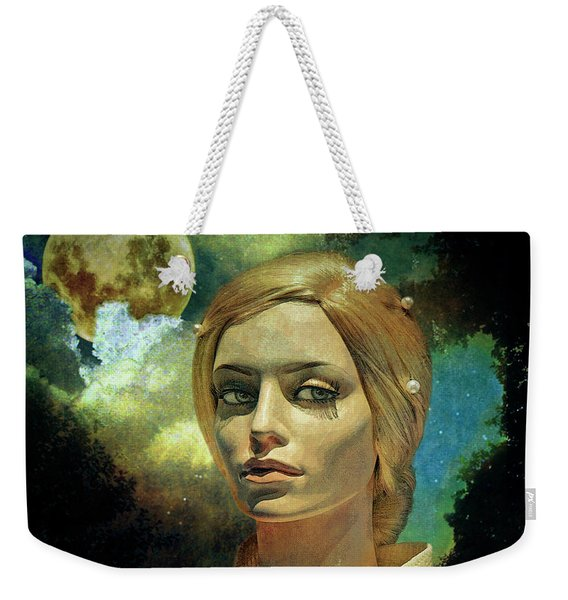 Luna In The Garden Of Evil Weekender Tote Bag