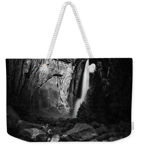 Lunar Glow Weekender Tote Bag