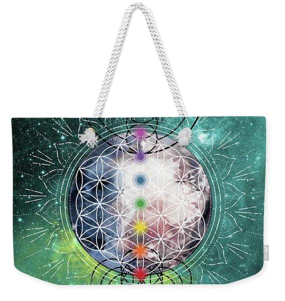 Lunar Mysteries Weekender Tote Bag