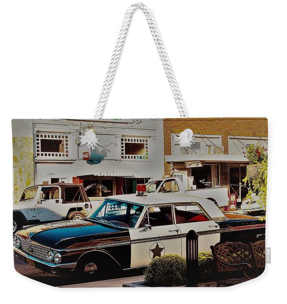 Lunch At Snappy Weekender Tote Bag