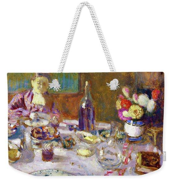 Luncheon - Digital Remastered Edition Weekender Tote Bag