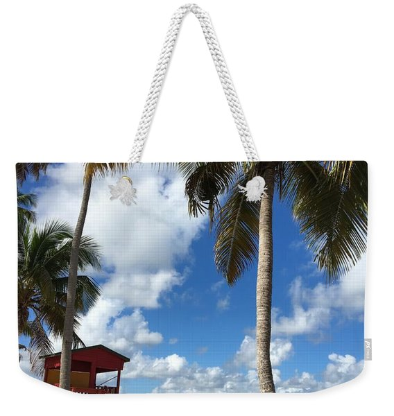 Luquillo Beach Weekender Tote Bag