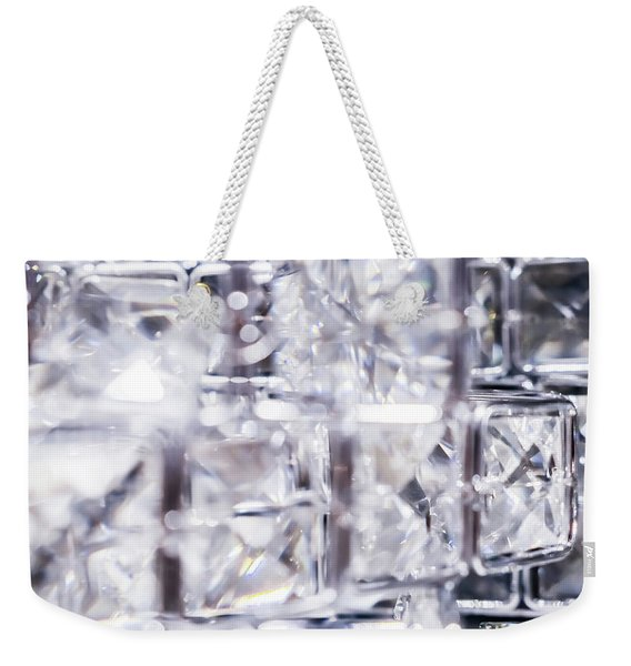 Luxe Moment V Weekender Tote Bag