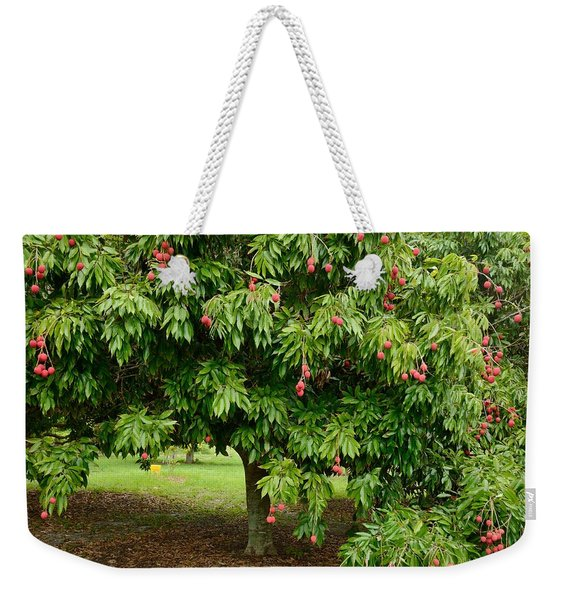 Lychee Ripe For Picking Weekender Tote Bag