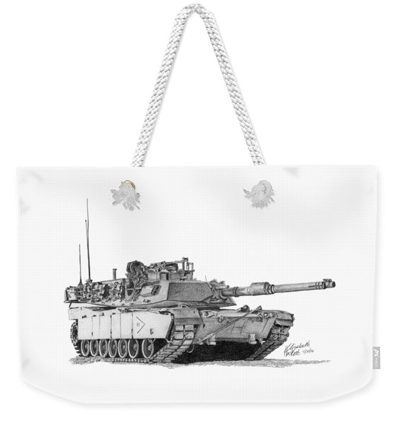 M1a1 B Company 2nd Platoon Commander Weekender Tote Bag