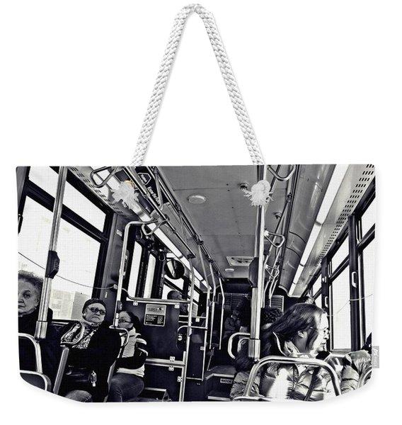 M4 Bus Nyc 1    Weekender Tote Bag