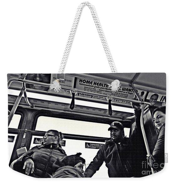 M4 Bus Nyc 2 Weekender Tote Bag