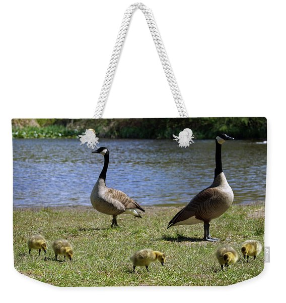 Ma Pa And The Kids Weekender Tote Bag