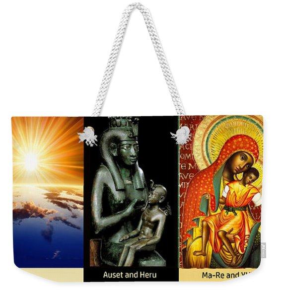 Ma Ra Evolution Weekender Tote Bag