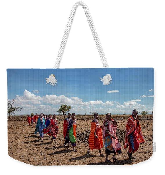 Maasi Women Weekender Tote Bag