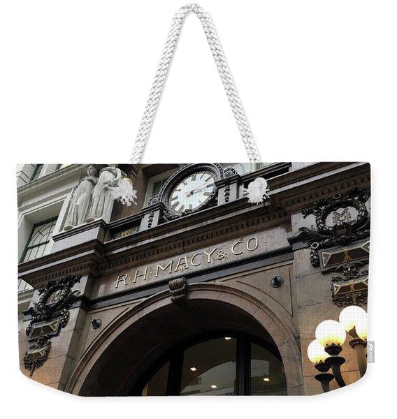 Macys Herald Square Nyc Weekender Tote Bag