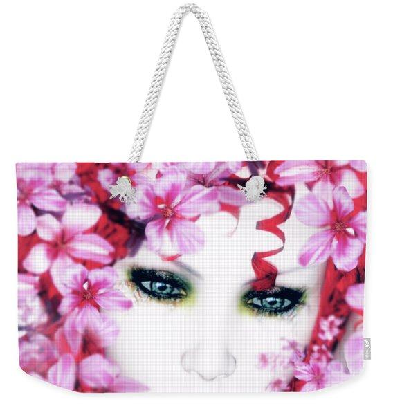 Madame Butterfly Weekender Tote Bag
