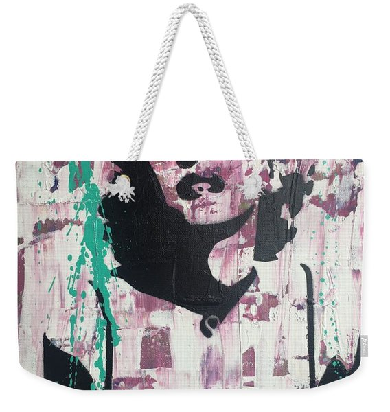 Madness Is Genius Weekender Tote Bag