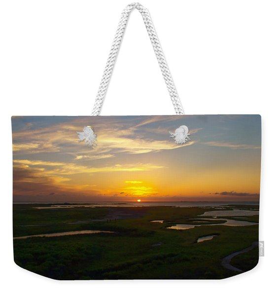 Maggies Cove Sunset Weekender Tote Bag