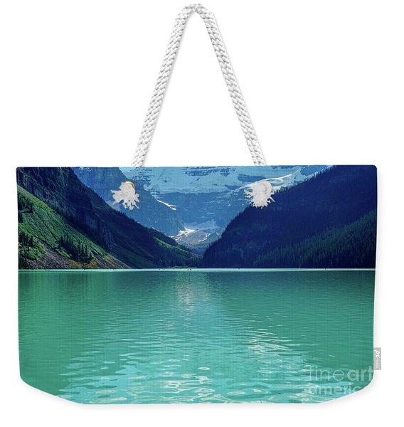 Magic At Lake Louise Weekender Tote Bag