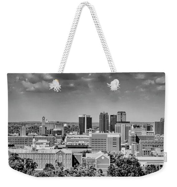 Magic City Skyline Weekender Tote Bag