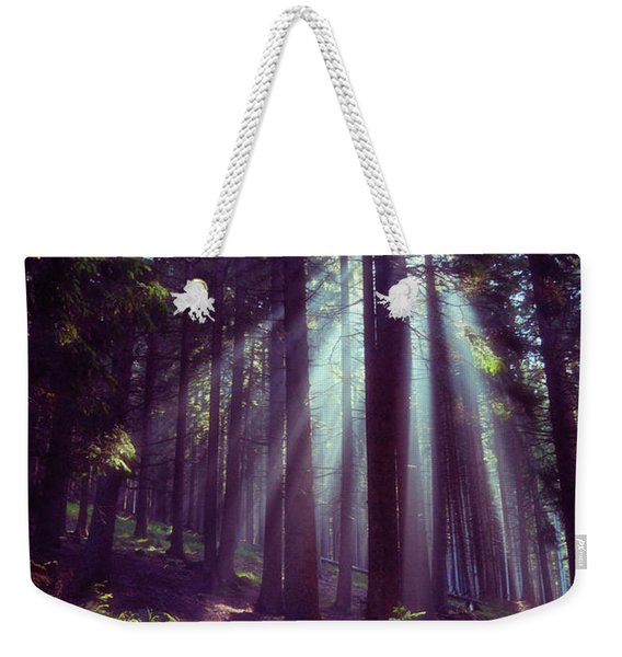 Magic Forest Weekender Tote Bag