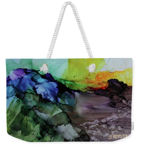 Magic Mountion Weekender Tote Bag