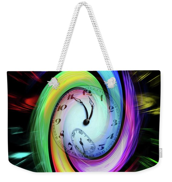 Magic Of Colors - Time Is Running Out 2 Weekender Tote Bag