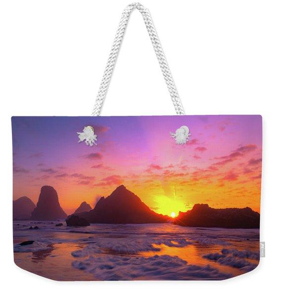Magic On The Oregon Coast Weekender Tote Bag
