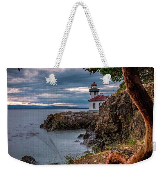 Magic Sunset - Lime Kiln Light Weekender Tote Bag