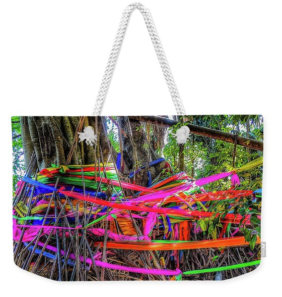 Magical Island Weekender Tote Bag